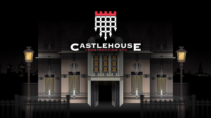 test Castlehouse - Interactive, animated website design